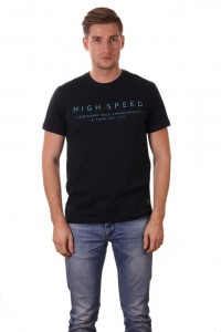 "T-shirt męski z napisem ""High Speed"" + kolory"